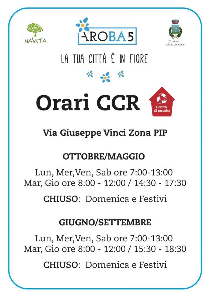 A3_Orari_CCR_GIOIA